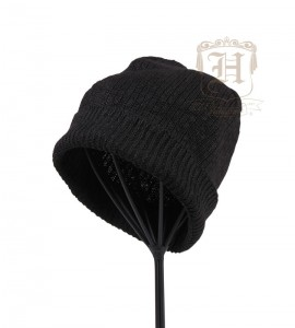 hemp-beanie-short-black