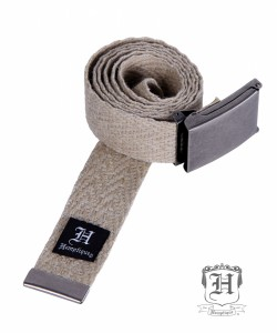 hemp-belt-herring-bone-gunmetal-silver